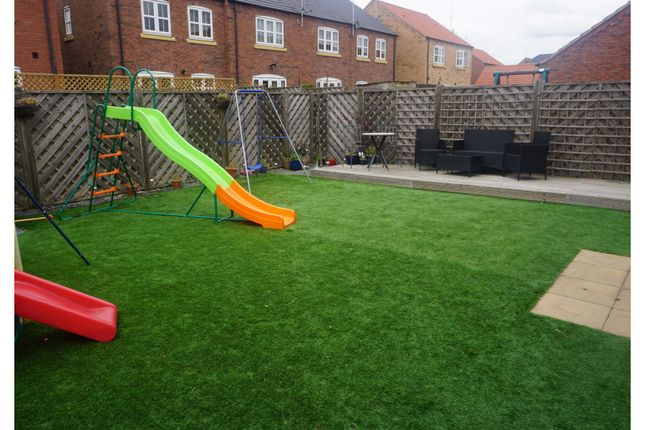 Rear Garden of New Forest Way, Kingswood, Hull HU7