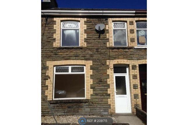 Thumbnail Terraced house to rent in Monmouth View, Caerphilly