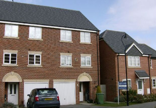 3 bed town house for sale in Rickyard Walk, Grange Park, Northampton