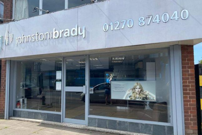 Thumbnail Retail premises for sale in Sandbach Road South, Alsager, Stoke-On-Trent