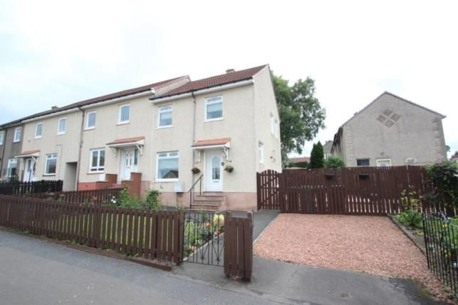 Thumbnail End terrace house for sale in Sherdale Avenue, Chapelhall, Airdrie, North Lanarkshire