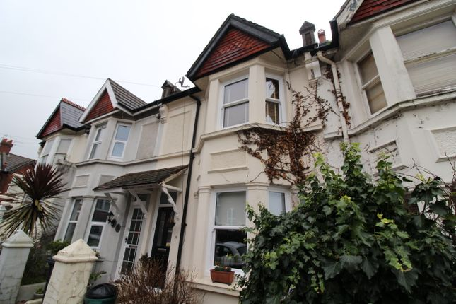 Thumbnail Terraced house to rent in Shelley Road, Hove