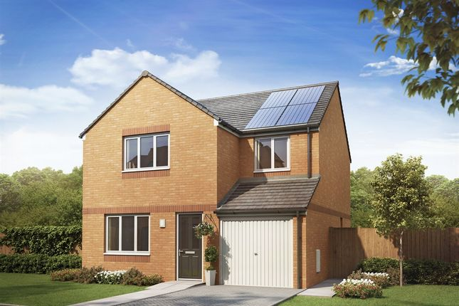 "Thumbnail Detached house for sale in ""The Leith "" at Kirk Lane, Livingston Village, Livingston"