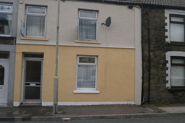 Thumbnail Terraced house to rent in Bute Street, Treorchy, Rhondda, Cynon, Taff.