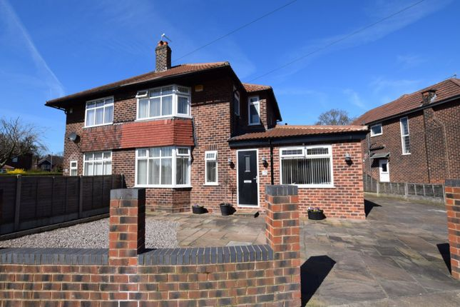 Thumbnail Semi-detached house to rent in Shawdene Road, Manchester