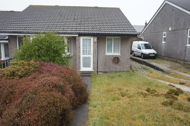 Thumbnail Bungalow for sale in Braddock Close, Foxhole, St. Austell