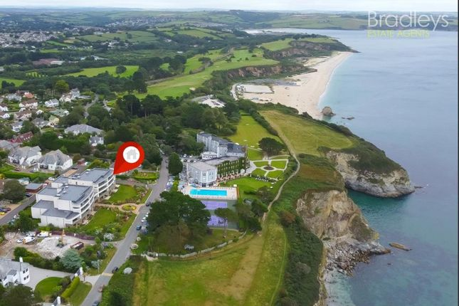 Thumbnail Flat for sale in Ocean House, Sea Road, St. Austell, Cornwall