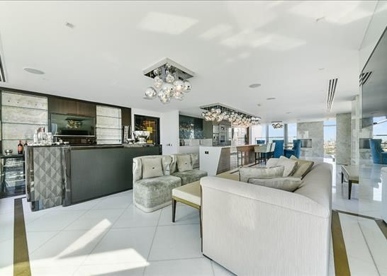 Thumbnail Flat to rent in Pan Peninsula West, Nr Canary Wharf, London