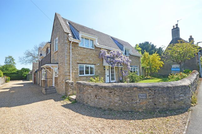 Thumbnail Detached house for sale in Cherry Orton Road, Orton Waterville, Peterborough