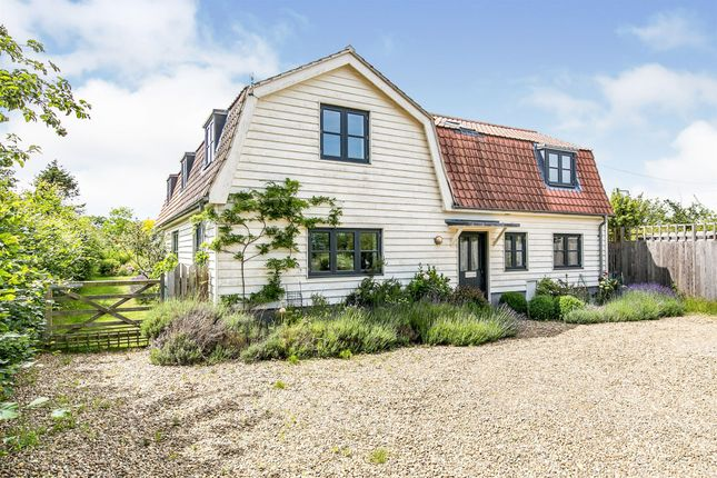 Thumbnail Detached house for sale in Rectory Road, Hollesley, Woodbridge