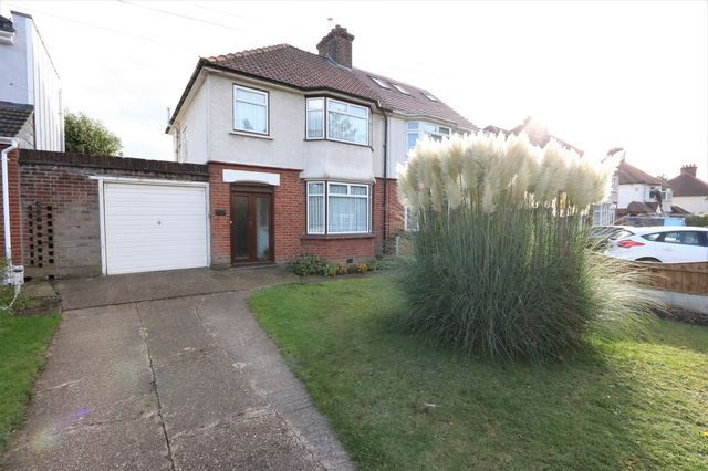 Thumbnail Semi-detached house for sale in Purfleet Road, Aveley, South Ockendon