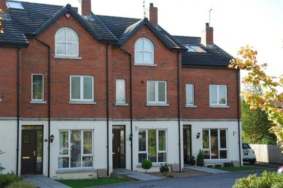 Thumbnail Town house to rent in The Close, Lisburn