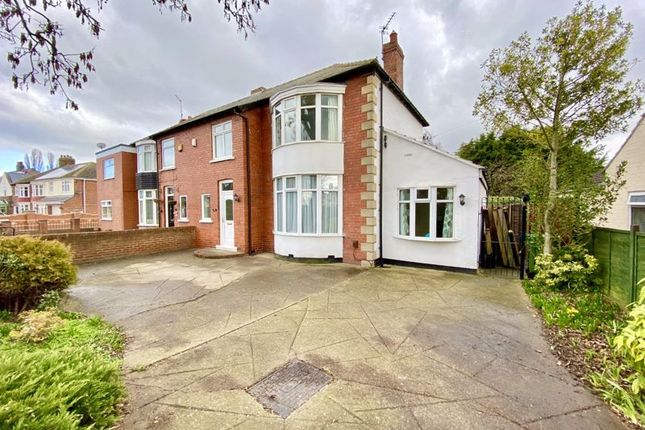 Thumbnail Semi-detached house for sale in Bishopton Road, Stockton-On-Tees