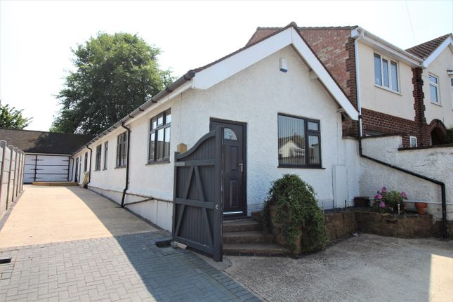 Thumbnail Detached bungalow for sale in Roland Avenue, Nuthall, Nottingham