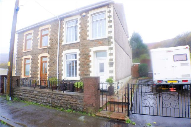 Semi-detached house for sale in Porth