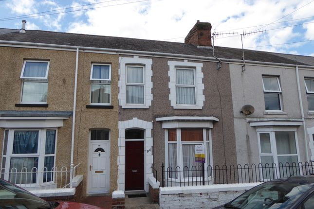 Terraced house to rent in Marlborough Road, Brynmill, Swansea
