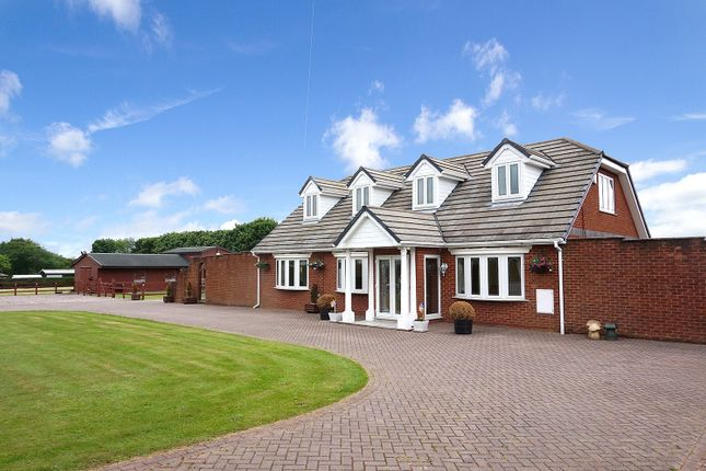 Thumbnail Detached house for sale in Winwick Lane, Warrington