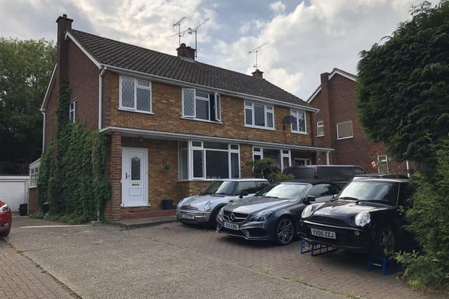 Semi-detached house for sale in Butler Road, Crowthorne