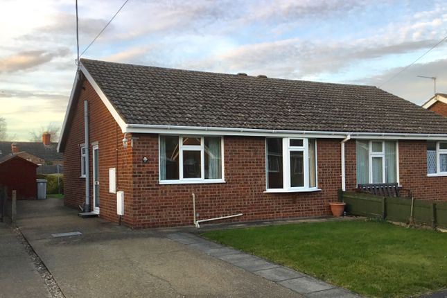 Thumbnail Semi-detached bungalow to rent in Priory Close, Louth