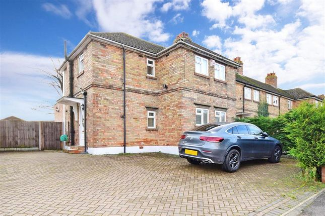 End terrace house for sale in Breton Road, Rochester, Kent