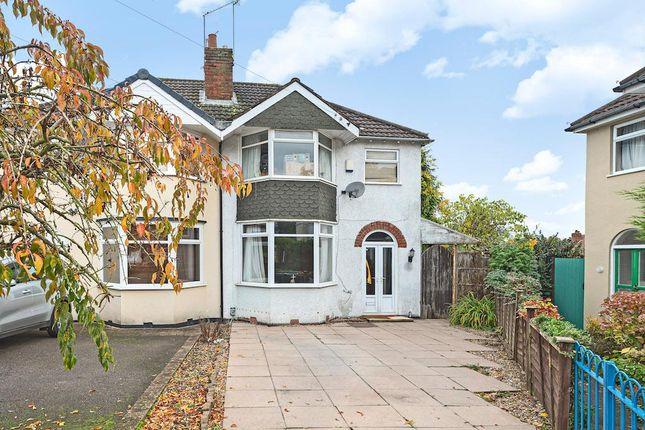 Thumbnail Semi-detached house for sale in Lyttleton Avenue, Halesowen, West Midlands