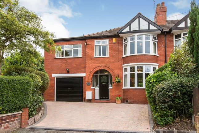 Thumbnail Semi-detached house for sale in Parker Avenue, Hartford, Northwich, Cheshire