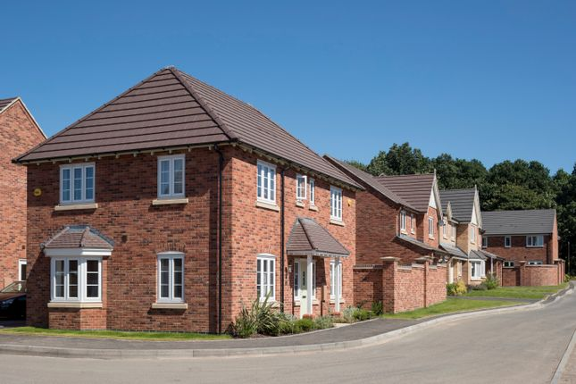 Thumbnail Detached house for sale in The Wessington At Langley Country Park, Radbourne Lane, Derby