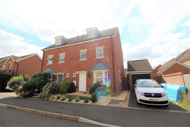 Thumbnail Semi-detached house for sale in Donna Nook Lane Kingsway, Quedgeley, Gloucester