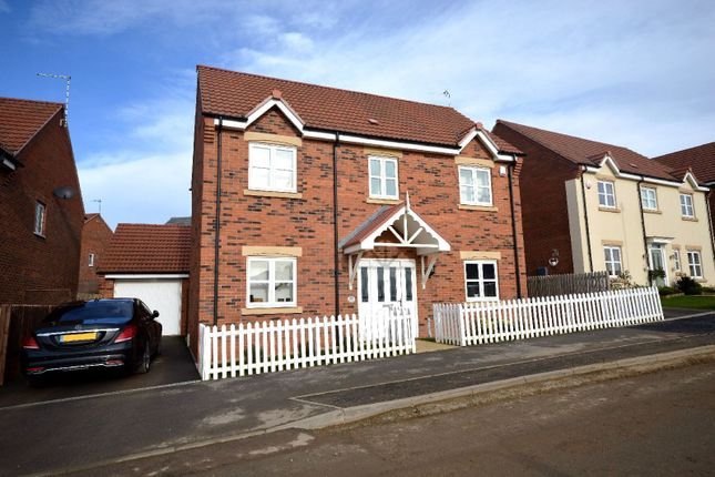 Thumbnail Detached house for sale in Devana Way, Great Glen, Leicester