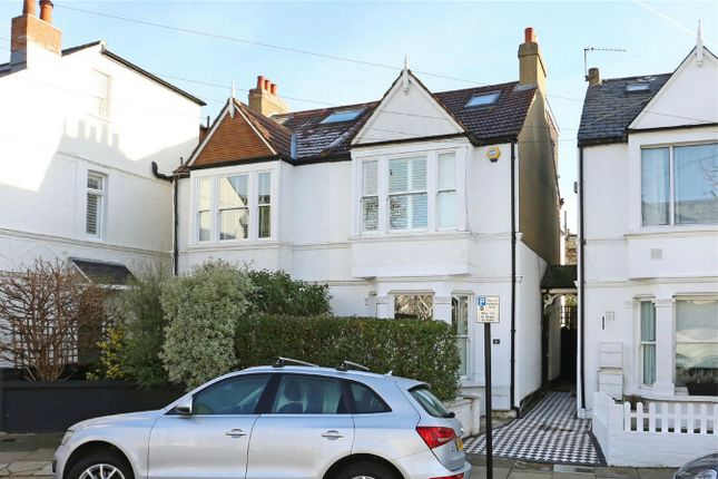 Thumbnail Semi-detached house for sale in Carlton Road, Bedford Park Borders, Chiswick, London