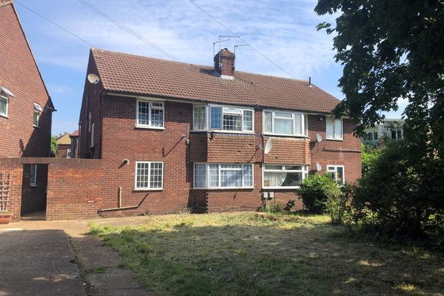 Thumbnail Flat to rent in West End Lane, Harlington, Hayes
