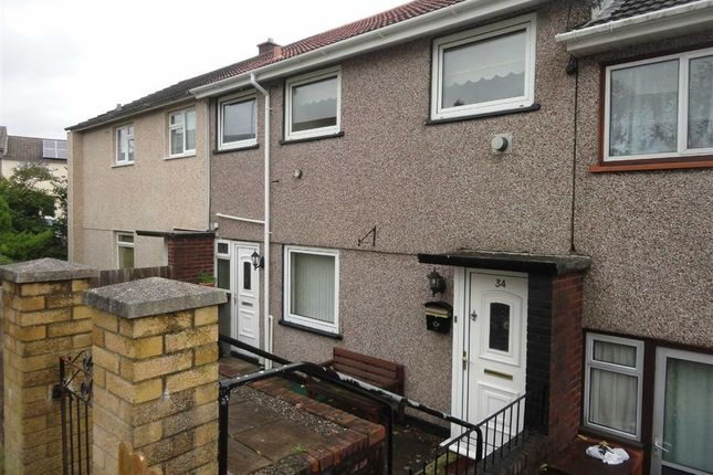 Thumbnail Terraced house to rent in Keats Close, Cwmbran