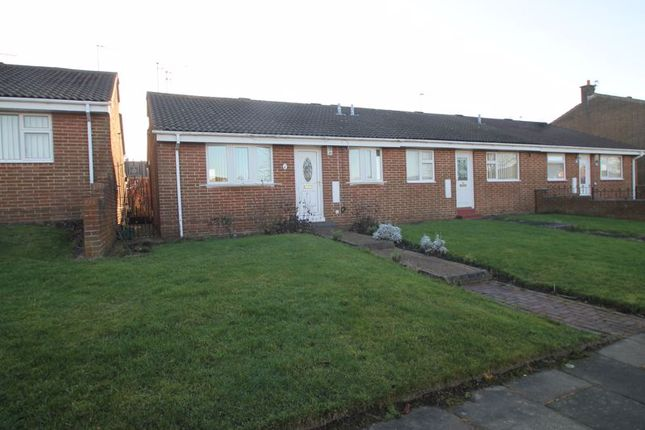 Thumbnail Semi-detached bungalow for sale in Treecone Close, Sunderland