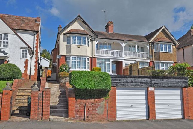 Thumbnail Semi-detached house for sale in Substantial Period Residence, Oakfield Road, Newport