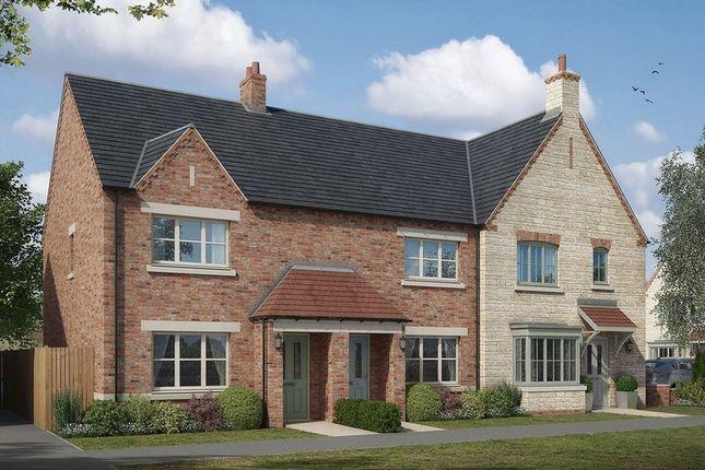 Thumbnail End terrace house for sale in The Upton, Lodge Lane, Nettleham