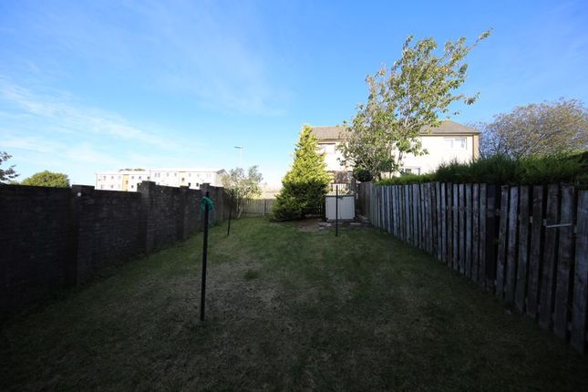 Back Garden of Earn Crescent, Dundee DD2