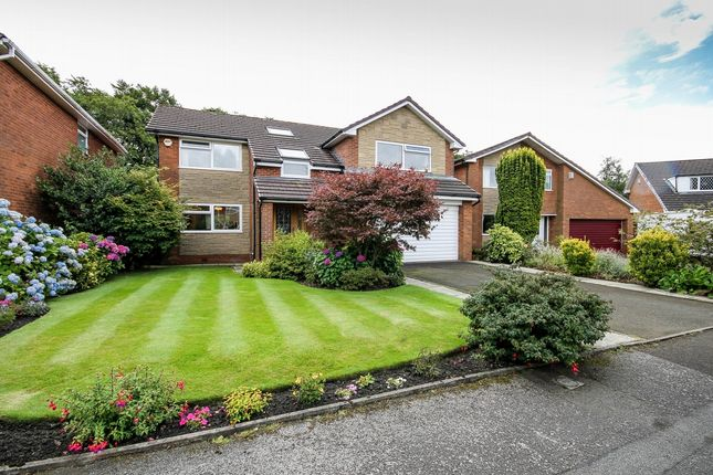Thumbnail Detached house for sale in Church Meadows, Harwood, Bolton