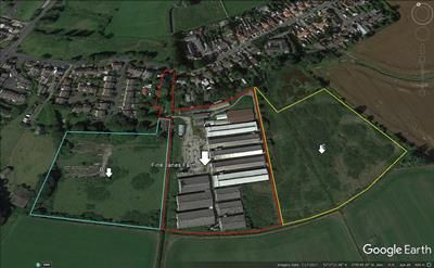Thumbnail Land for sale in Fine Janes Farm, Moss Road, Halsall, Southport