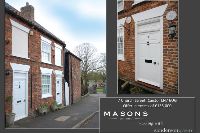 2 bed end terrace house for sale in Church Street, Caistor, Market Rasen LN7