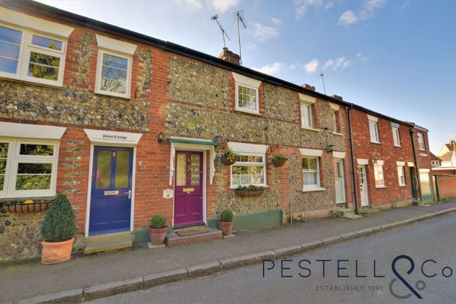 Thumbnail 2 bed terraced house for sale in Copthall Lane, Thaxted, Dunmow