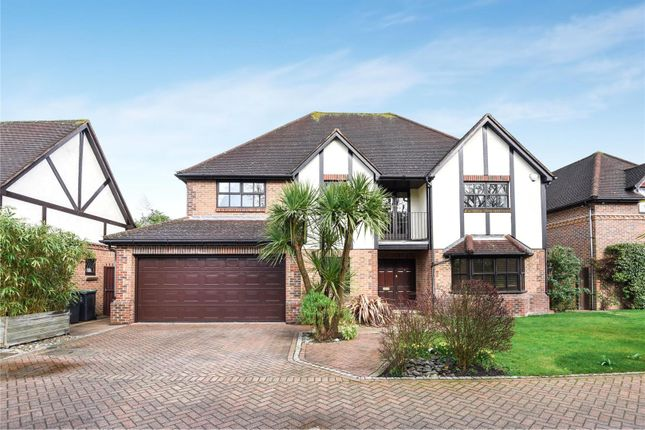 Thumbnail Detached house for sale in Gainsborough Place, Chigwell, Essex
