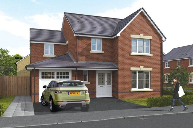 Thumbnail Detached house for sale in The Bonvilston, Hawtin Meadows, Pontllanfraith, Blackwood, Caerphilly