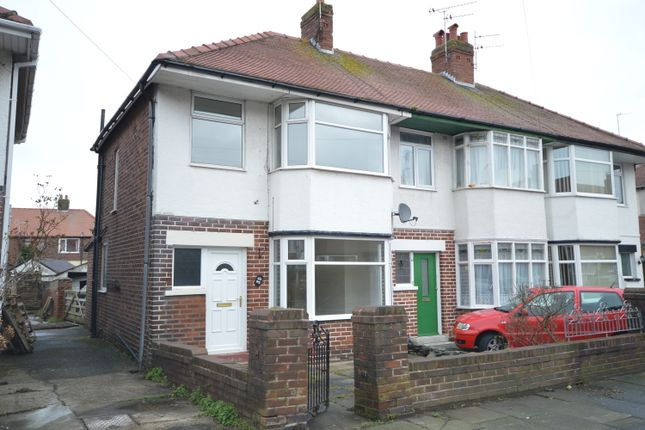 Thumbnail End terrace house to rent in Baines Avenue, Blackpool