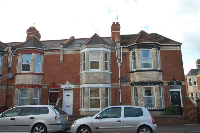 Thumbnail Terraced house to rent in Rugby Road, St. Thomas, Exeter