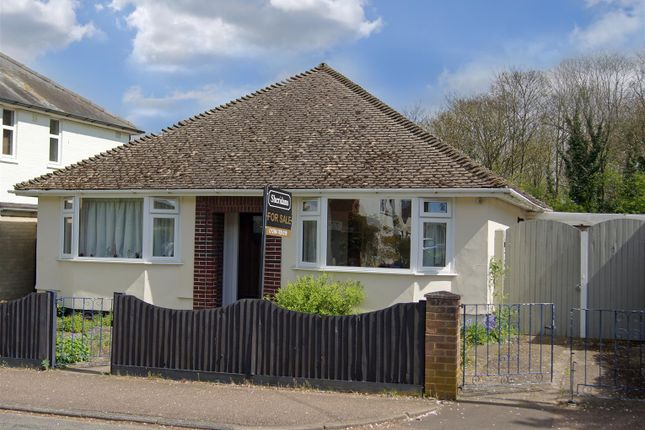 Thumbnail Bungalow for sale in Highbury Road, Bury St. Edmunds