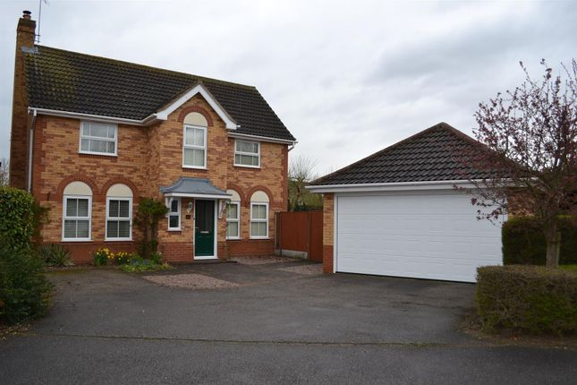 Thumbnail Detached house to rent in Coleridge Gardens, Sleaford