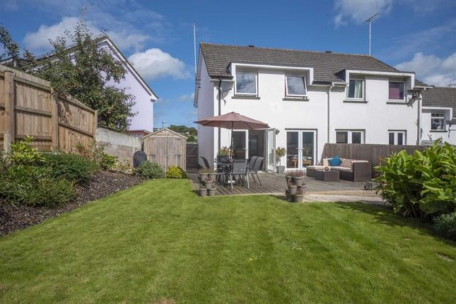 Thumbnail End terrace house for sale in Ward Close, Stratton, Bude, Cornwall