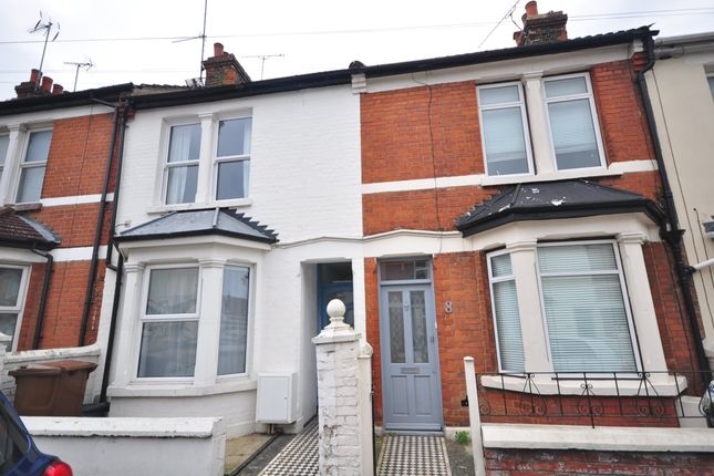 Thumbnail Terraced house to rent in Crosley Road, Gillingham