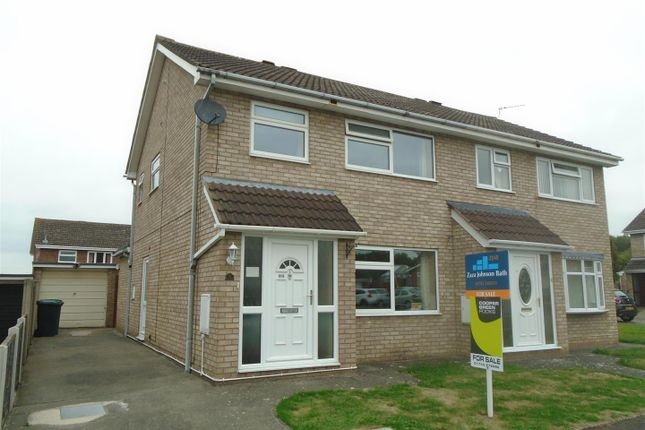 Thumbnail Semi-detached house for sale in Chaffinch Way, Sundorne Grove, Shrewsbury