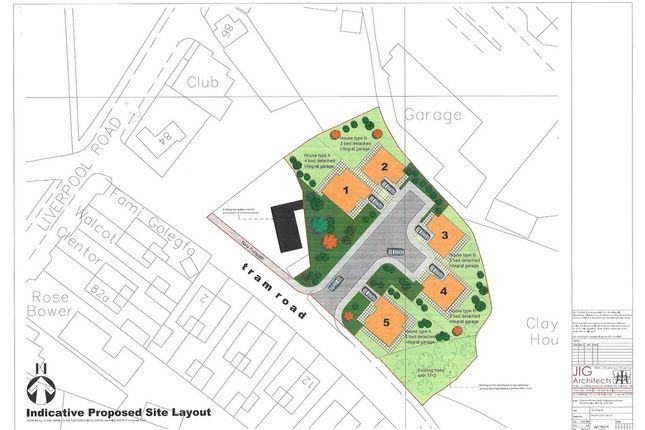 Thumbnail Land for sale in Tram Road, Buckley